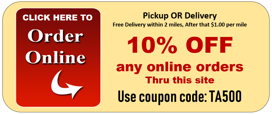 taste of italy hackettstown pizza NJ online order button